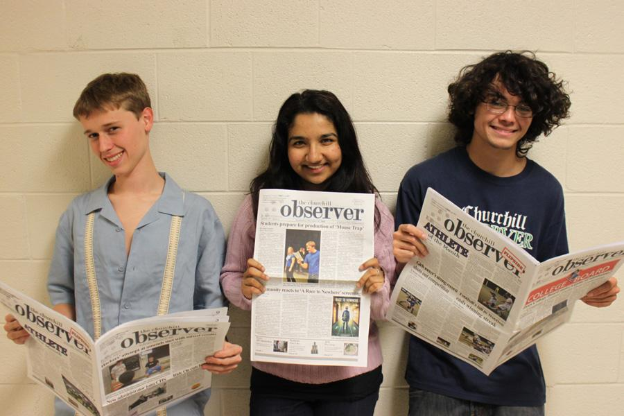 NSPA recognizes 'Observer'