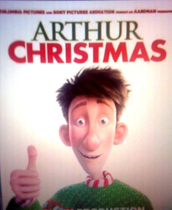 Arthur Christmas' finds its pl...