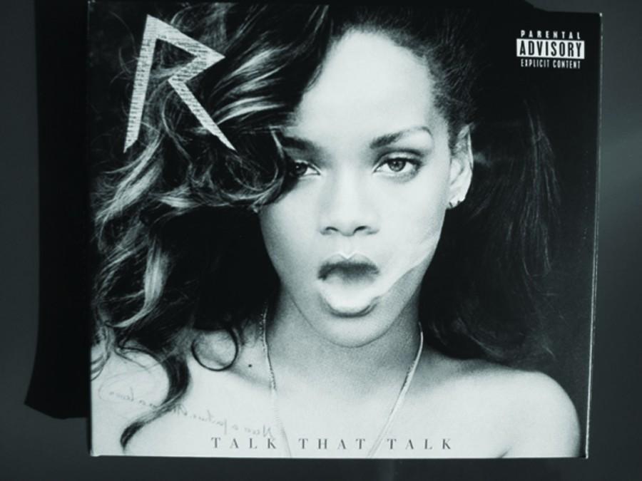 Rihanna+presents+a+darker+side+in+%27Talk+That+Talk%27
