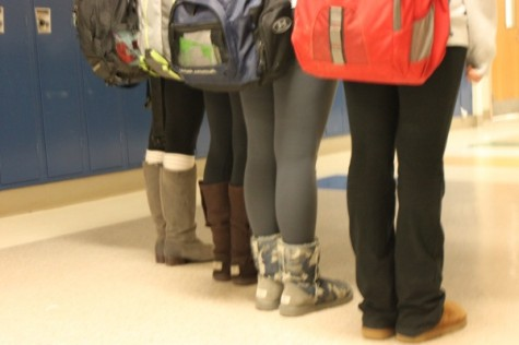 Rumored ban on leggings just stretching the truth