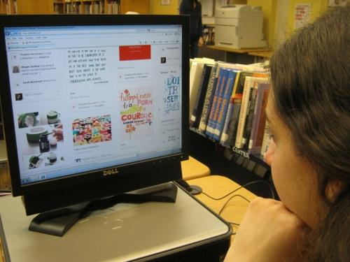 Pinterest site lets students organize online interests