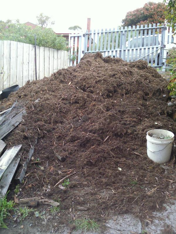 Online ordering available for senior class mulch sale