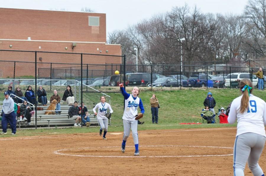 Softball starts season with new pitching rotation