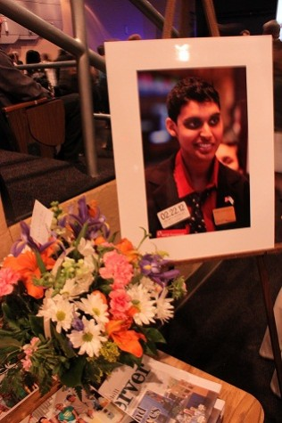 Students honor Nachu Bhatnagar at lunch memorial