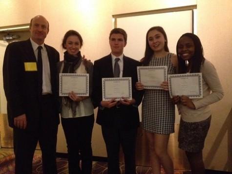 MUN delegates awarded
