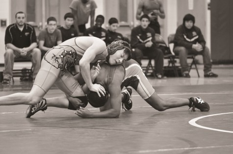 Wrestling struggles after losing key athletes