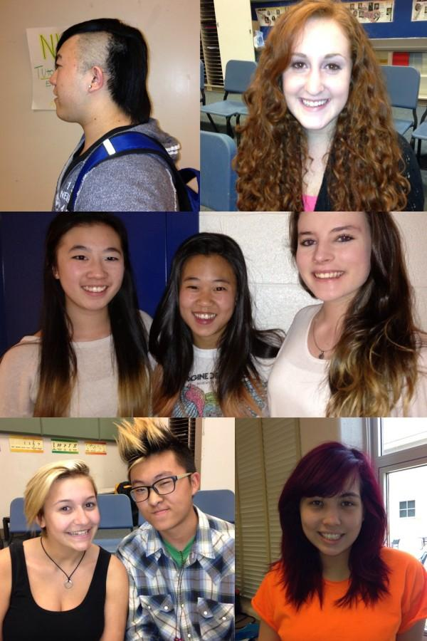 Students flaunt, celebrate unique hairstyles