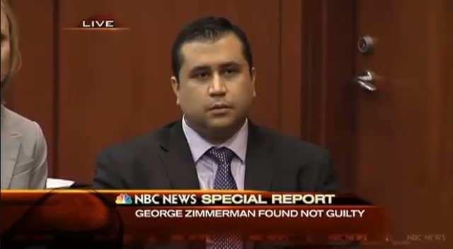 Trayvon Martin Shooter George Zimmerman Found Not Guilty