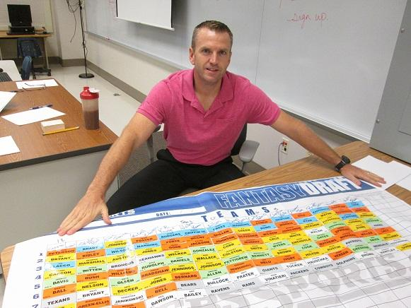 Fantasy Football finds a new arena: the classroom