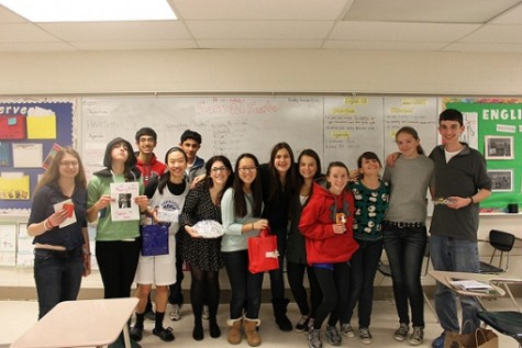 Students spread the holiday spirit through Secret Santa
