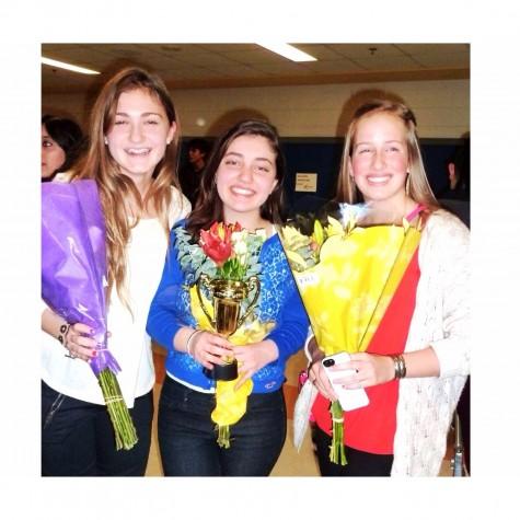 Freshmen girl trio wins Churchill's Got Talent