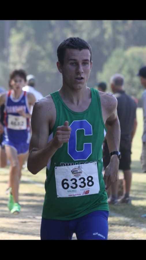 I want you to want me: Students share their recrutiment experiences; Junior David Fitzgerald- Track and Field
