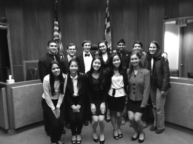 Mock Trial Winners
