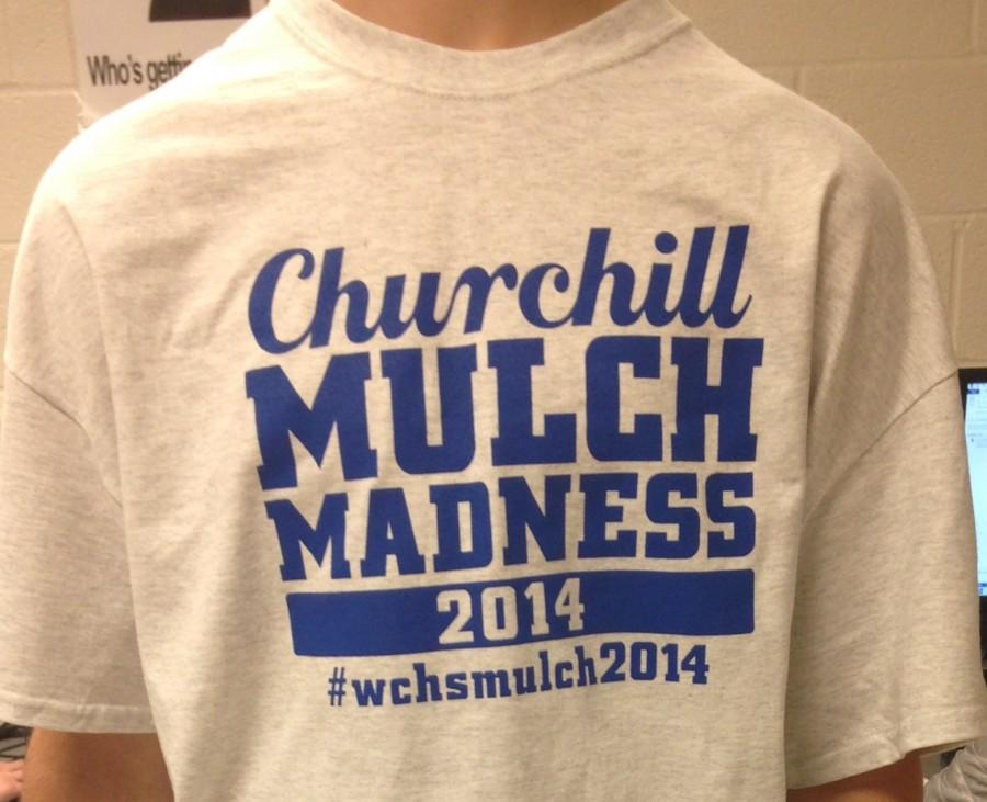 Students delivering mulch this weekwend will be wearing these t-shirts.