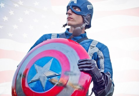 'Captain America: Winter Soldier' swoops into theaters
