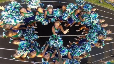 CHS cheer and poms host spirit camp