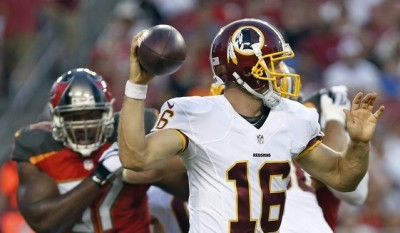 Colt McCoy takes over starting job for Redskins