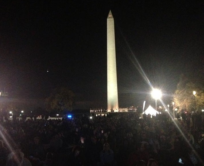 Thousands of fans and turned out to see their favorite musicians perform at the concert.