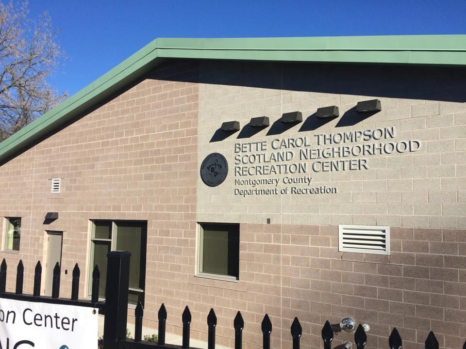 The newly renovated recreation center offers Scotland residents a variety of activities including a community room, a computer room and a full-size basketball court.