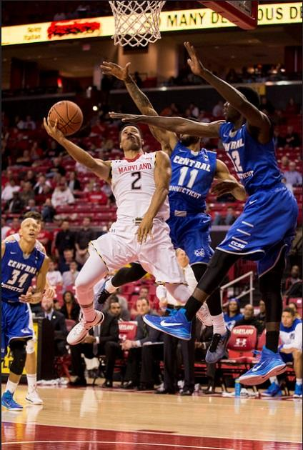 Point guard Melo Trimble has helped the Terrapins to an 8-1 start.