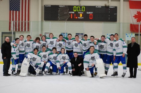 Varsity one hockey skates through playoff push