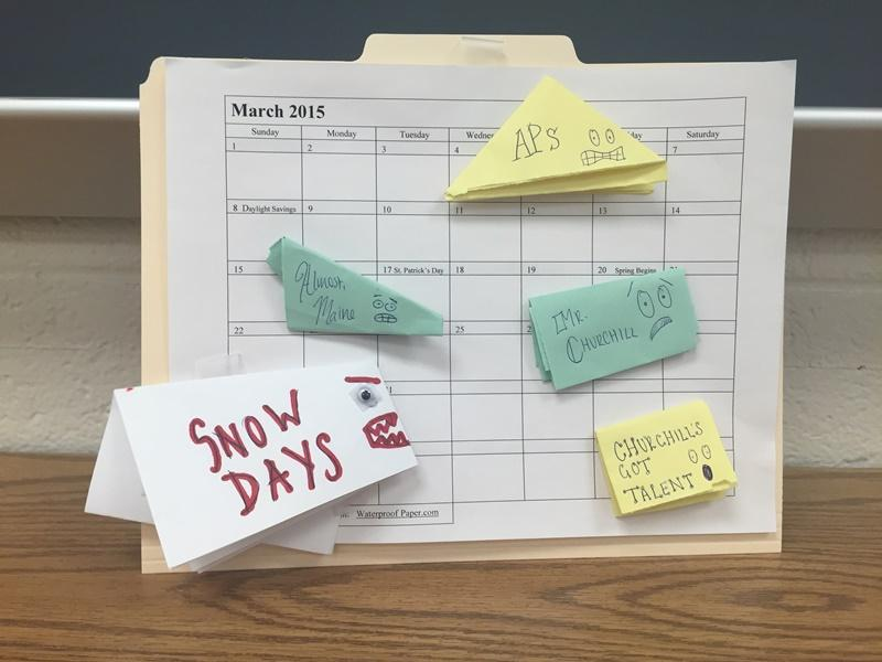 Snow days ate up time and caused cancellations of traditional school events.