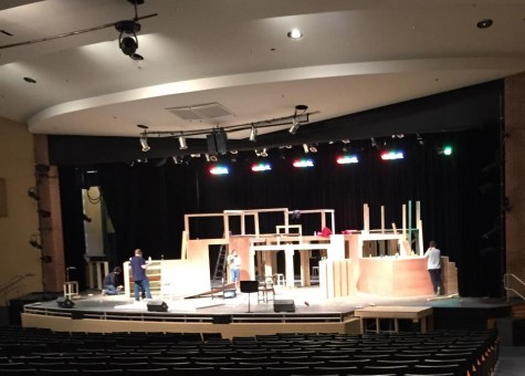 The show can't go on without the CHS tech crew