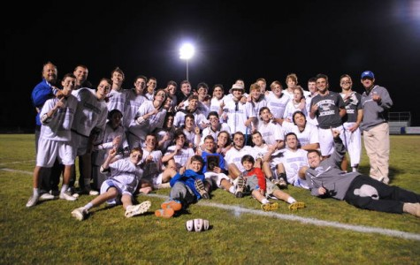 Boys lacrosse wins the 4A West regional championship