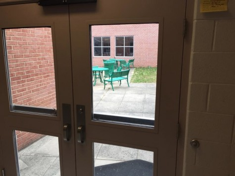 Students are working to allow access to CHS courtyards