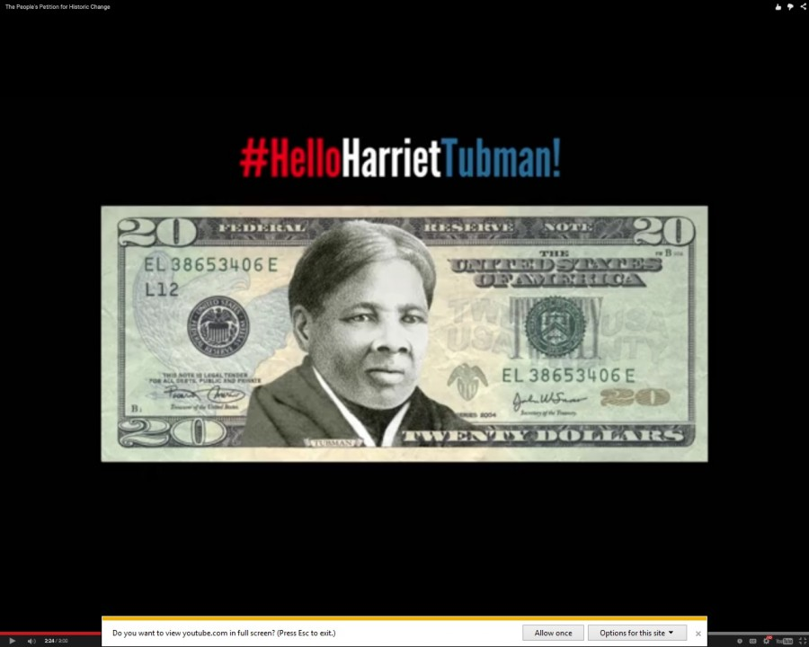Harriet Tubman was voted as the candidate to replace President Andrew Jackson on the $20 bill.