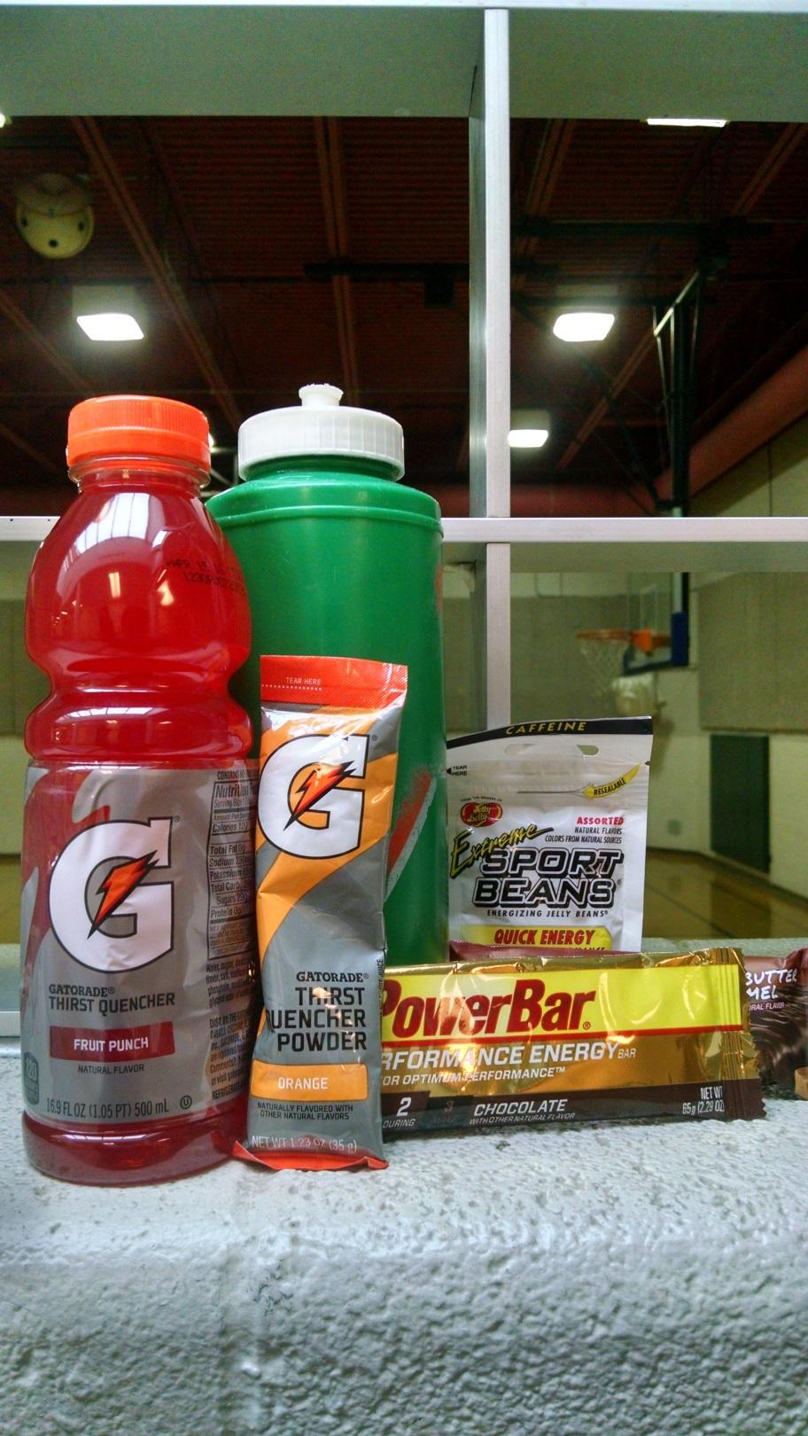 Gatorade provided CHS sports teams with free products including drinks, energy chews and protein bars.