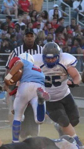 New CHS Lineman Thrives