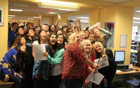 CHS takes a selfie that shatters the record books
