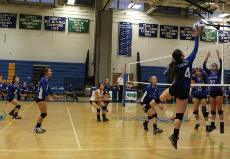 Girls Volleyball Team Sets Up For Outstanding Season