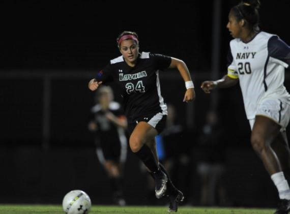 Kate Reese is now playing soccer for Loyola University.