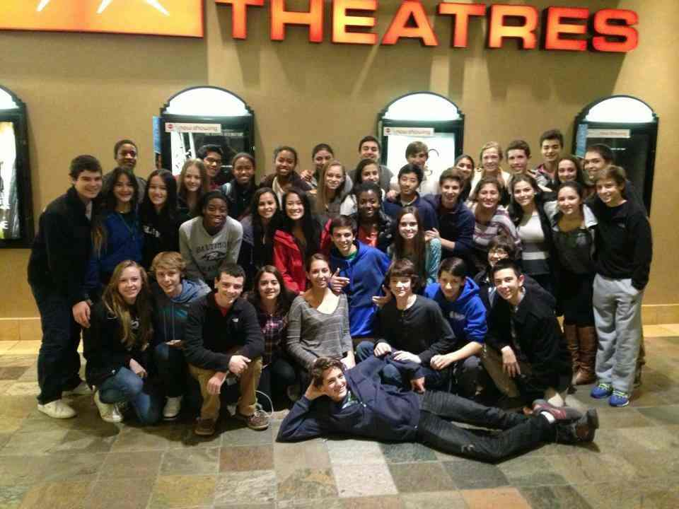 A group of CHS students saw every Hunger Games Premiere together.