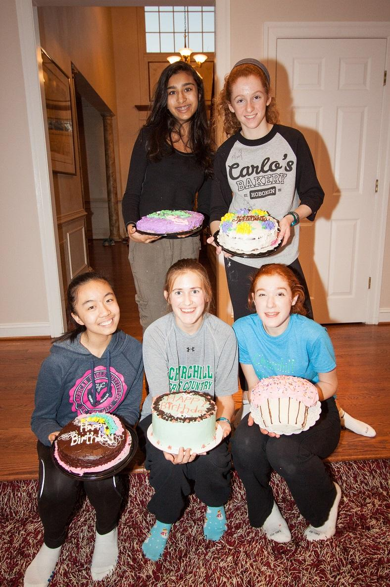 CHS sophomores in BC4F bake and deliver birthday cakes to those who can't afford them.