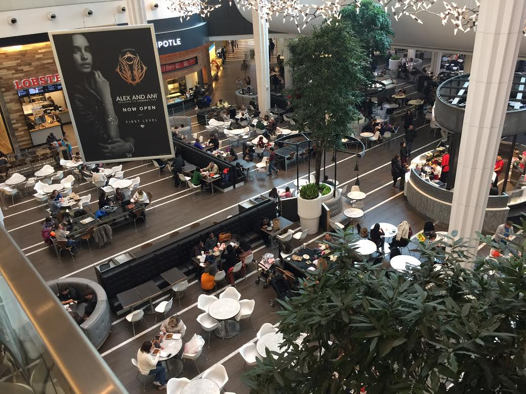 Montgomery Mall recently added restaurants to its diverse food court.