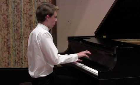 Senior Anthony Ratinov has been playing piano since age 4. He has performed at the CHS Arts Festival, Strathmore and the Kennedy Center.