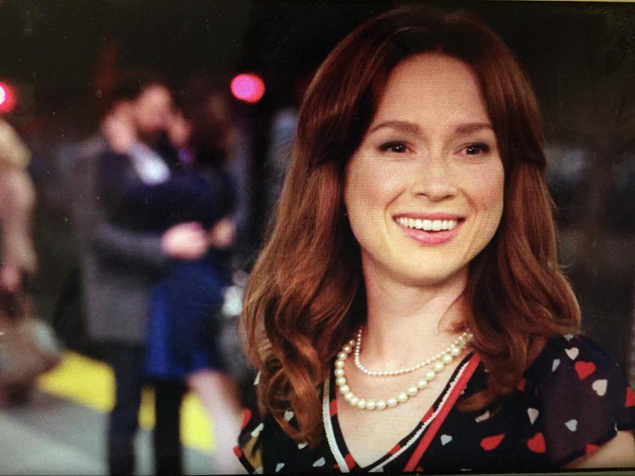 Ellie+Kemper+stars+as+Kimmy+Schmidt+in+the+second+season+of+the+Netflix+original+show.