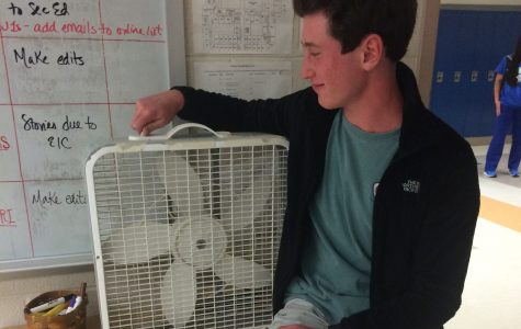 Lack of Air Conditioning at CHS Causes Discomfort Among Students
