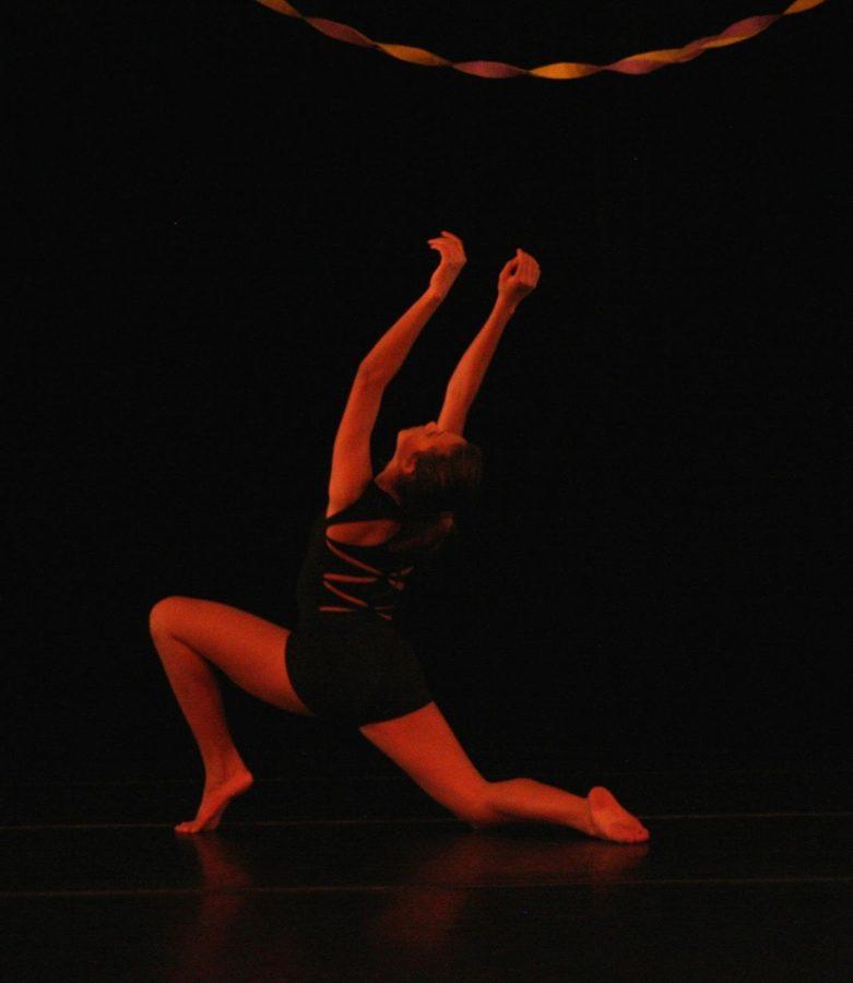 Alexandra Ballance preforms