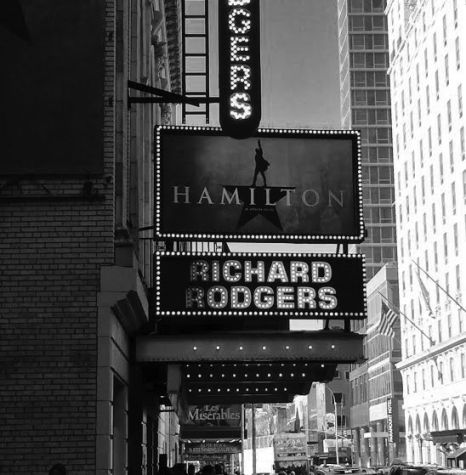 Hamilton is currently playing at the Richard Rogers Theatre on Broadway. It is coming to the Kennedy Center for the 2017-2018 season.