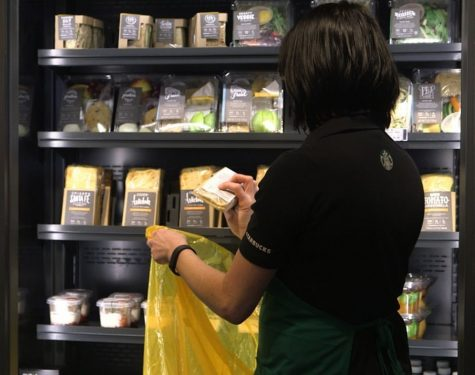 Starbucks Program Donates Food