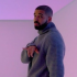 """Drake in his music video for his hit """"Hotline Bling,"""" the hot track of his new album Views."""