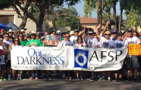 CHS Student Walks for Suicide Prevention