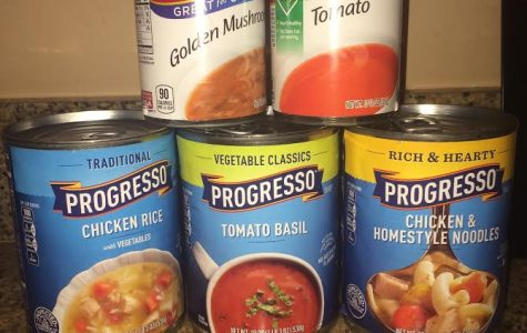 CHS Wrote Annual Canned Food Drive