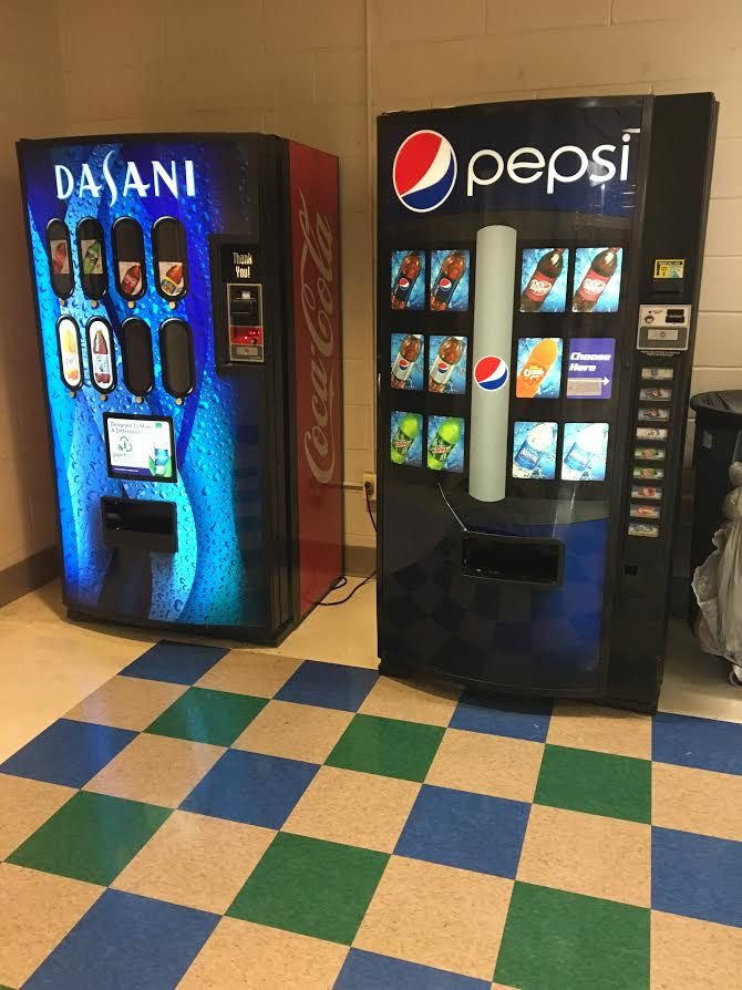 Some students are frustrated at the shortcomings of the school's vending machines.