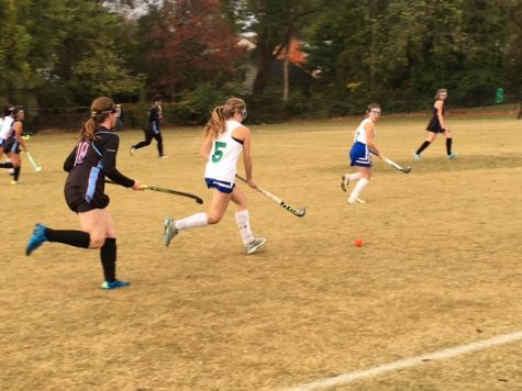 Field Hockey Finishes Season as State Finalists