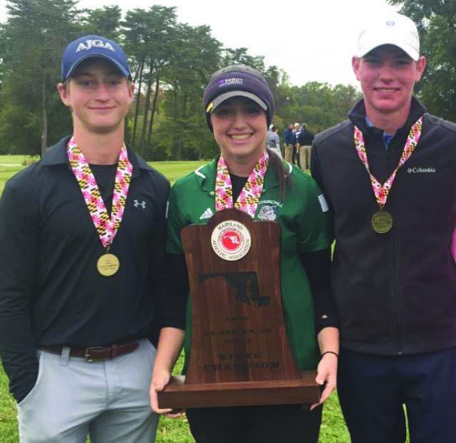 Juniors Dylan Rotter, Lena Capoccia and Senior Oliver Whatley win states for their third consecutive year.